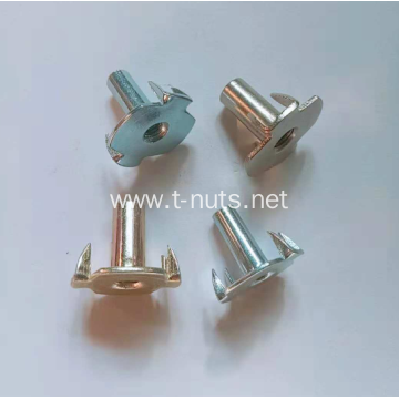 Color zinc plating Symmetric claw Half thread Nuts